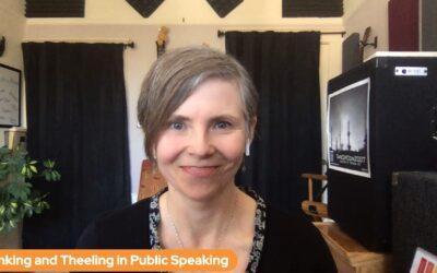 Flinking and Theeling in Public Speaking
